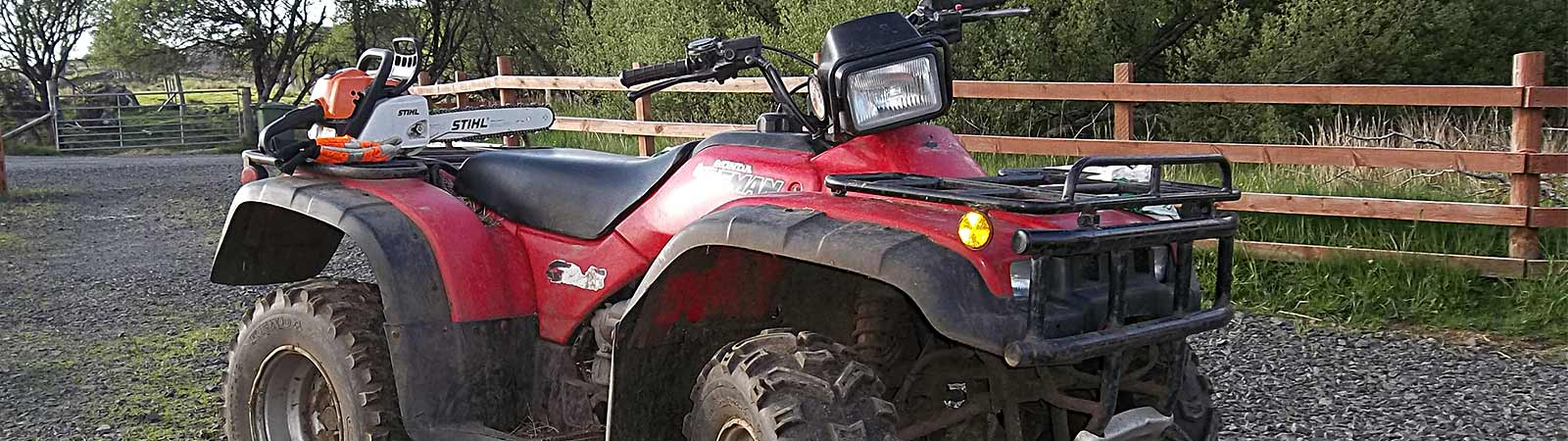 ATV and agricultural machinery repairs